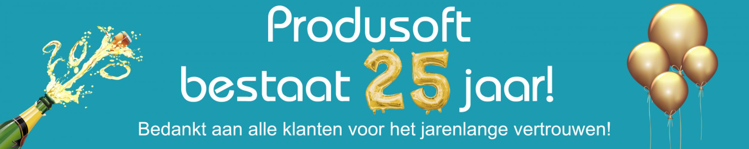 Produsoft bestaat 25 jaar!